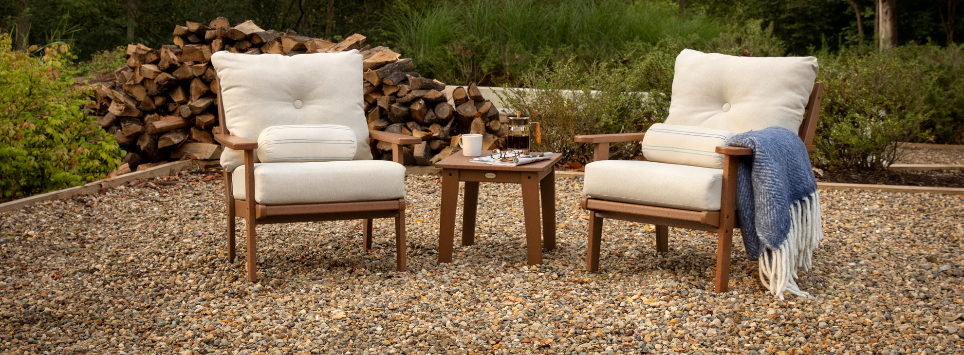 Outdoor Lounge Space Under $1500